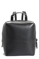 Calvin Klein 205W39nyc Cube Leather Backpack Black