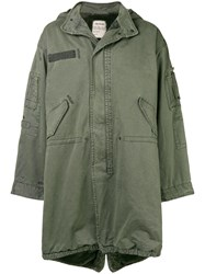 Zadig And Voltaire Kikoh Grunge Parka Green