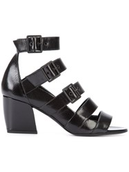 Pierre Hardy Paralelle Sandals Black