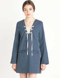 Pixie Market Lily Lyric Pinstripe Dress By Alice Mccall