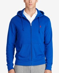 Polo Ralph Lauren Men's Big And Tall Full Zip Hoodie Deep Royal