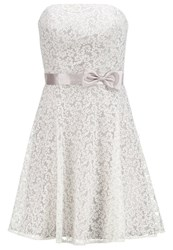 Laona Cocktail Dress Party Dress Cream White Dune Taupe