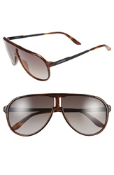 Carrera 62Mm Aviator Sunglasses Havana Black Brown Gradient