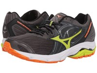 Mizuno Wave Inspire 14 Magnet Lime Punch Running Shoes Black