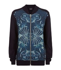Just Cavalli Graphic Front Knitted Cardigan Male