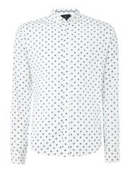 Scotch And Soda Men's Oxford Shirt Optic White