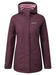 Craghoppers Madigan Classic Thermic Waterproof Jacket Red