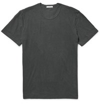 James Perse Cotton Jersey T Shirt Charcoal