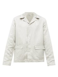 Our Legacy Piraya Linen Blend Shirt Jacket White