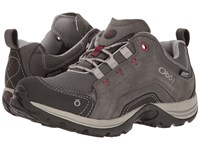Oboz Mesa Low Bdry Slate Women's Shoes Metallic