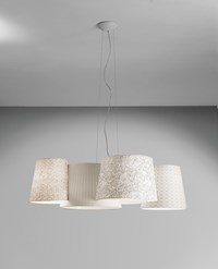 Axo Light Melting Pot 115 Linear Pendant White
