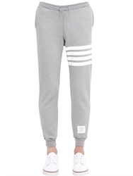 Thom Browne Stripes Printed Cotton Jogging Pants