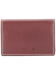 Cerruti 1881 Foldover Card Holder Brown