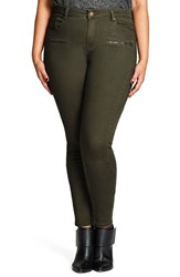 City Chic Plus Size Women's Warrior Stretch Skinny Pants