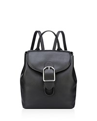 Anne Klein Catherine Leather Backpack Black Silver