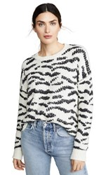 Line Knit Sweater Equine