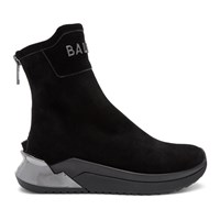 Balmain Black B Glove Sneakers