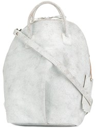 Marsell Worn Effect Backpack White