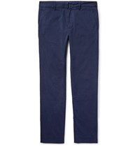Paul Smith Ps By Slim Fit Stretch Cotton Twill Chinos Navy
