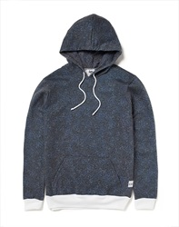 Hype X The Idle Man Midnight Speckle All Over Print Hoodie