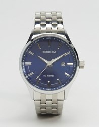 Sekonda Bracelet Watch In Silver Silver