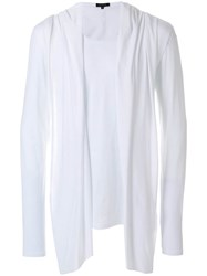 Unconditional Waistcoat Draped Top White