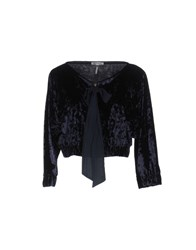 Miss Miss By Valentina Jackets Dark Blue