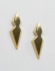 Made Liiche Stud Earrings Gold