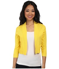 Rsvp Bre Shrug Yellow Women's Sweater