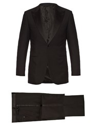 Lanvin Smoking Wool And Mohair Blend Tuxedo Black
