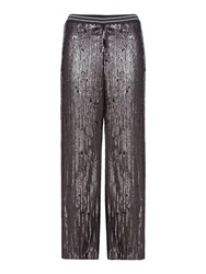 Free People So Sexy Sequin Just A Dreamer Wideleg Trouser Black