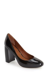 Linea Paolo Women's 'Brooke' Block Heel Pump Black Patent