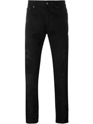 Givenchy Christ Print Jeans Black