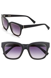 Women's Derek Lam 'Spring' 51Mm Sunglasses Matte Black