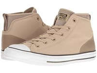 Converse Chuck Taylor All Star Syde Street Summer Mid Vintage Khaki Malt Herbal Men's Classic Shoes Beige