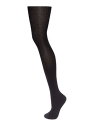 Linea Ribbed Tights Black