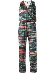 Lygia And Nanny Abstract Print Jumpsuit Multicolour