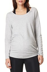 Noppies Women's Heather Athletic Maternity Top