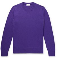 Sandro Wool Sweater Purple