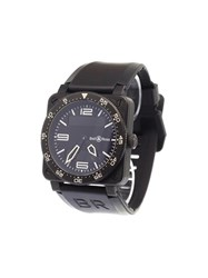 Bell And Ross 'Aviation' Analog Watch Steel