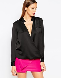Finders Keepers Bachelor Long Sleeve Shirt Black