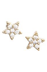 Estella Bartlett Women's Shine Bright Star Stud Earrings