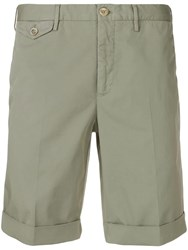 Incotex Green Chino Shorts