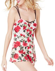 Betsey Johnson Rose Short Romper