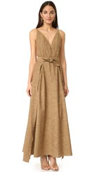 Petersyn Shaw Dress Copper