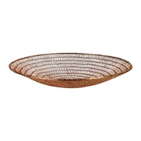 Pols Potten Wire Knitted Bowl Copper Low