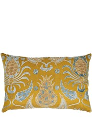 Les Ottomans Limit.Ed Suzani Luxury Silk Pillow