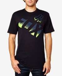 Fox Men's Graphic Print T Shirt Black