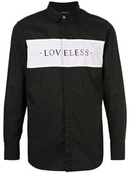 Loveless Studded Shirt Black