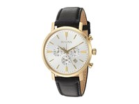 Bulova Classic 97B155 Gold Tone Black Watches